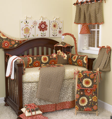 Peggy Sue 7pc Crib Bedding Set
