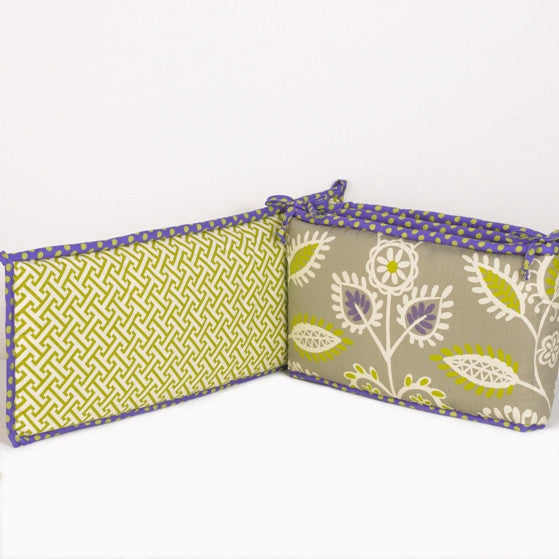 Cotton Tale Designs Periwinkle Bumper