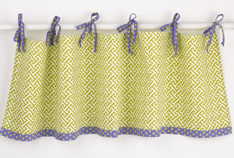 Periwinkle Valance