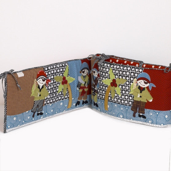 Cotton Tale Designs Pirates Cove Bumper