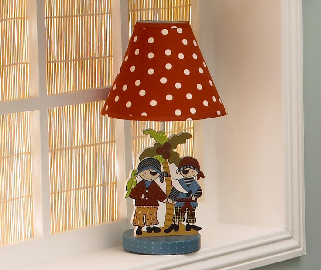 Cotton Tale Designs Pirates Cove Decorative Lamp
