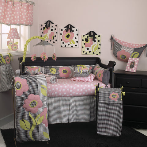 Poppy 7pc Crib Bedding Set