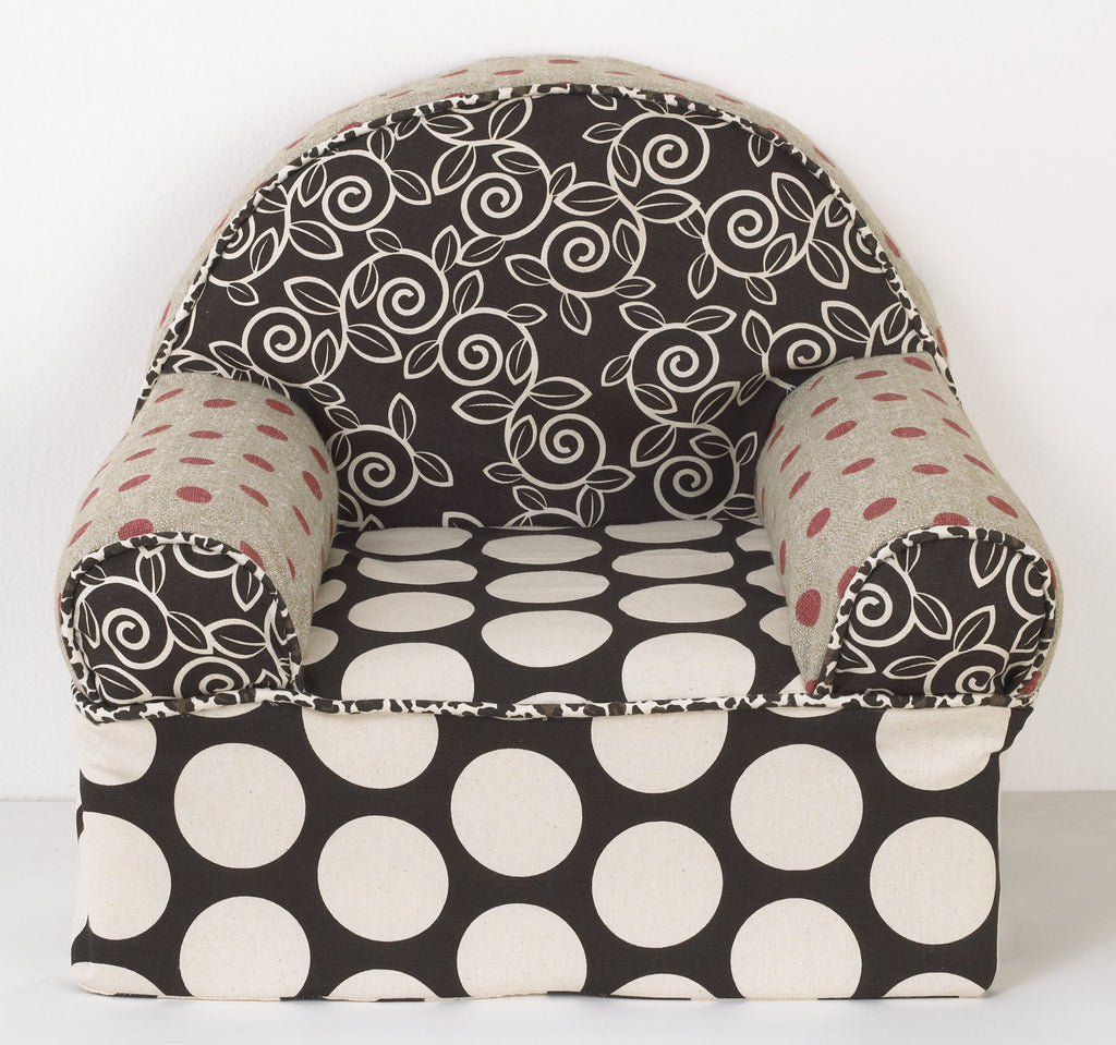 Cotton Tale Designs Raspberry Dot Baby's 1st Chair