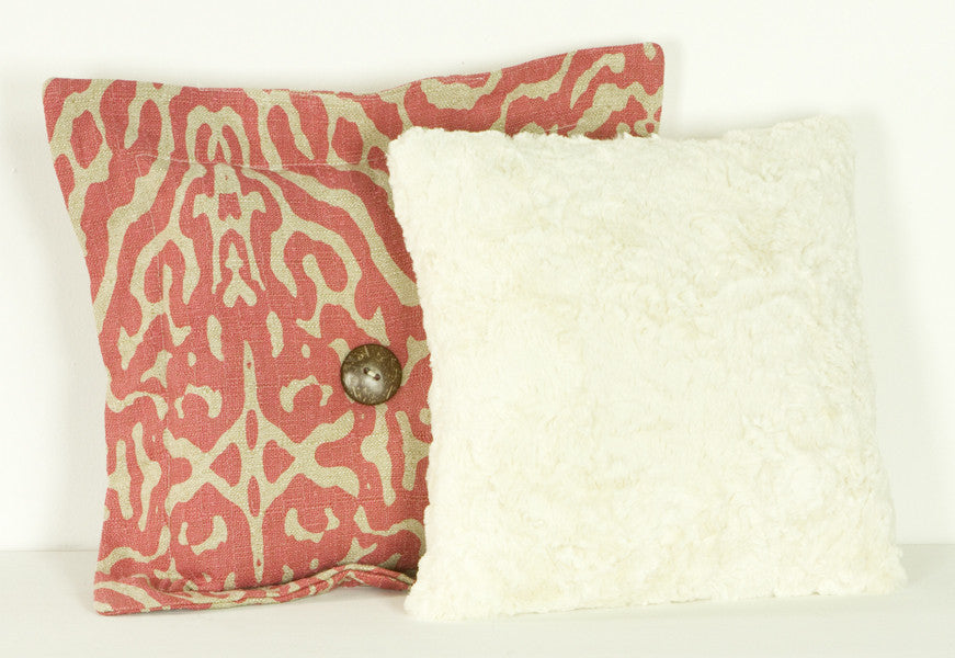 Cotton Tale Designs Raspberry Dot Pillow Pack
