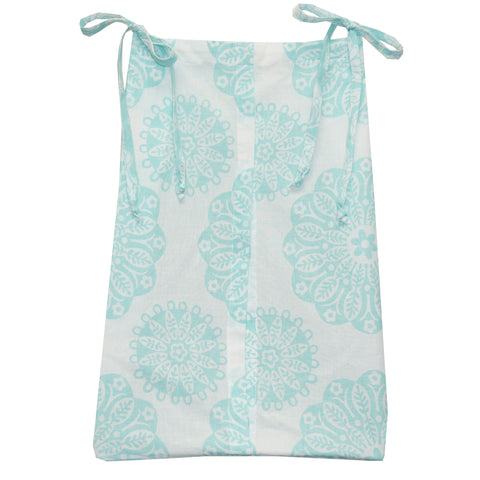 Aqua/Blue Diaper Stacker Sweet and Simple Collection