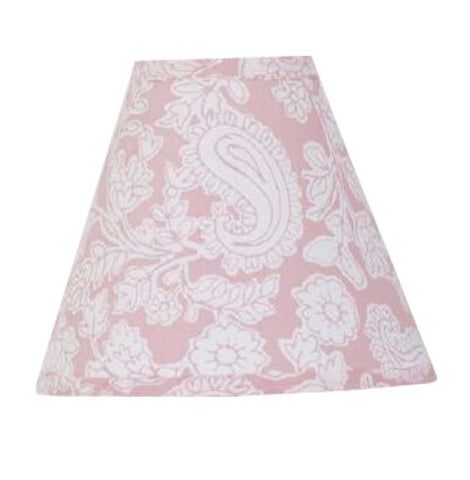 Pink Lamp Shade Sweet and Simple