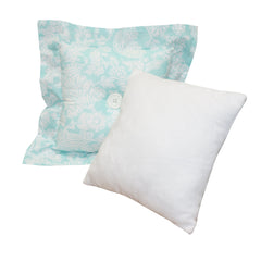 Aqua Throw Pillows Sweet and Simple Collection