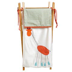 Embroidered Nursery Hamper Scribbles Collection