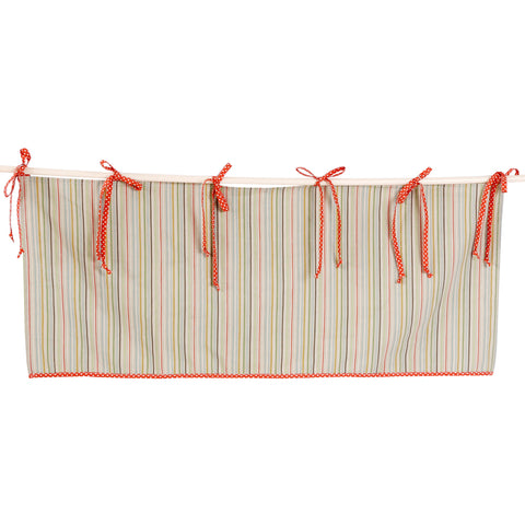 Stripe Window Valance