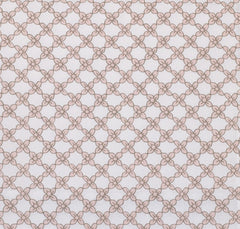 Sweet and Simple Pink Fitted Crib Sheet