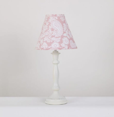 Sweet and Simple Pink Decorative Lamp
