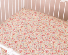 Cotton Tale Designs Tea Party Fitted Crib Sheet