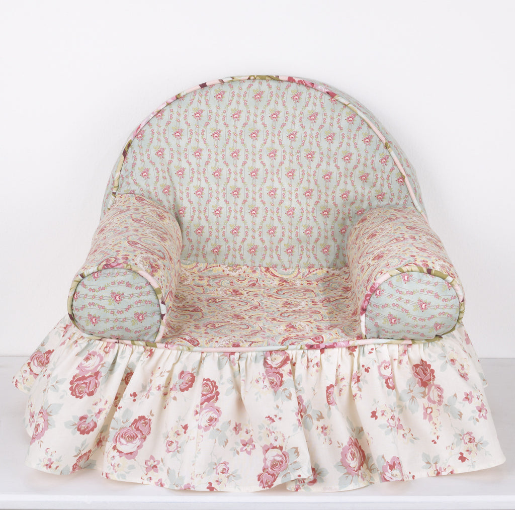 Cotton Tale Designs Tea Party Baby's 1st Chair