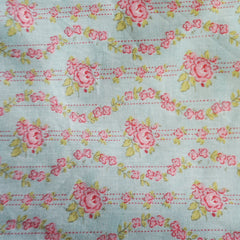 Tea Party Floral Pillow Case w/ Ties