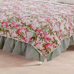 Tea Party  Twin Bed Skirt