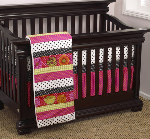 Tula 3pc Crib Bedding Set