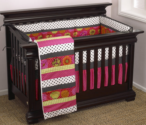 Tula 4pc Crib Bedding Set