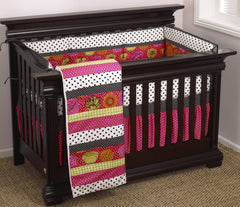 Cotton Tale Designs Tea Party 4pc crib bedding set