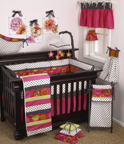 Tula 7pc Crib Bedding Set