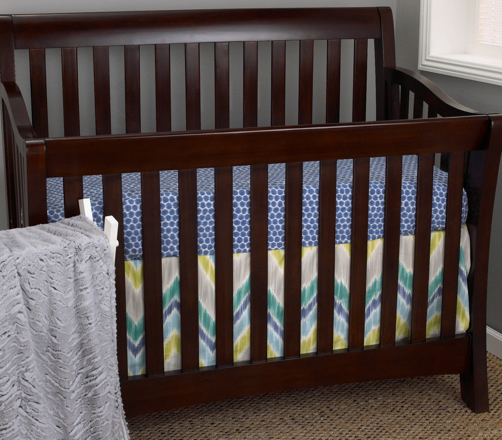 Cotton Tale Designs Zebra Romp 3pc crib bedding set