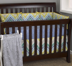 Cotton Tale Designs Zebra Romp 4pc crib bedding set