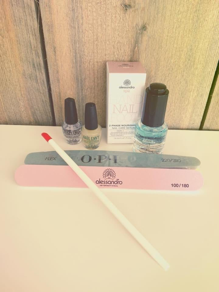 Home Kit met Hyaluron Nagelserum
