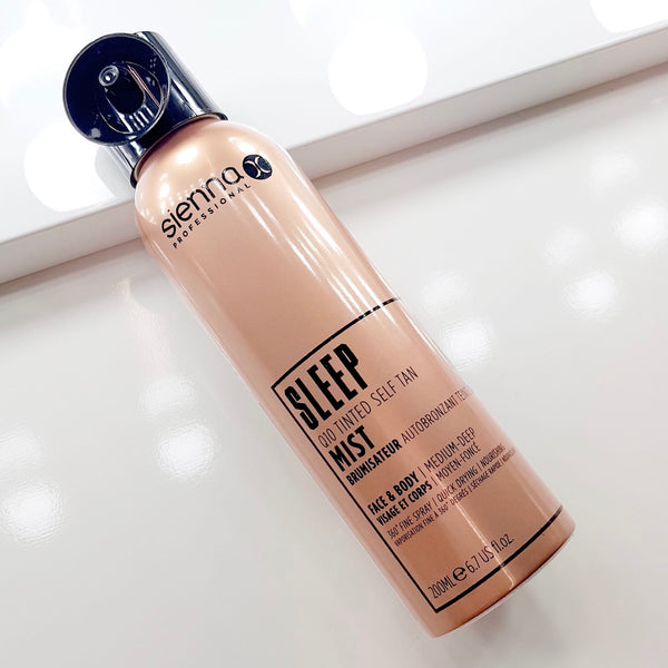 Sleep Q10 Tinted Self Tan Mist - 200ml
