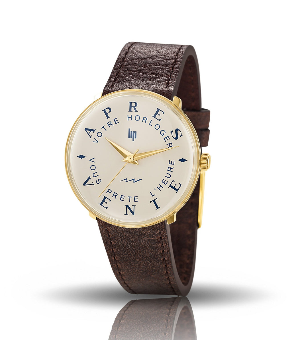 LIP service watch gold 34mm
