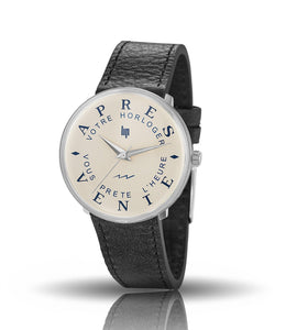 LIP service watch silver 34mm