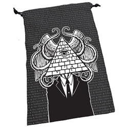 Dice Bag - Illuminati | All About Games