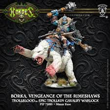 Trollblood - Borka  Vengeance Of The Rimeshaws | All About Games