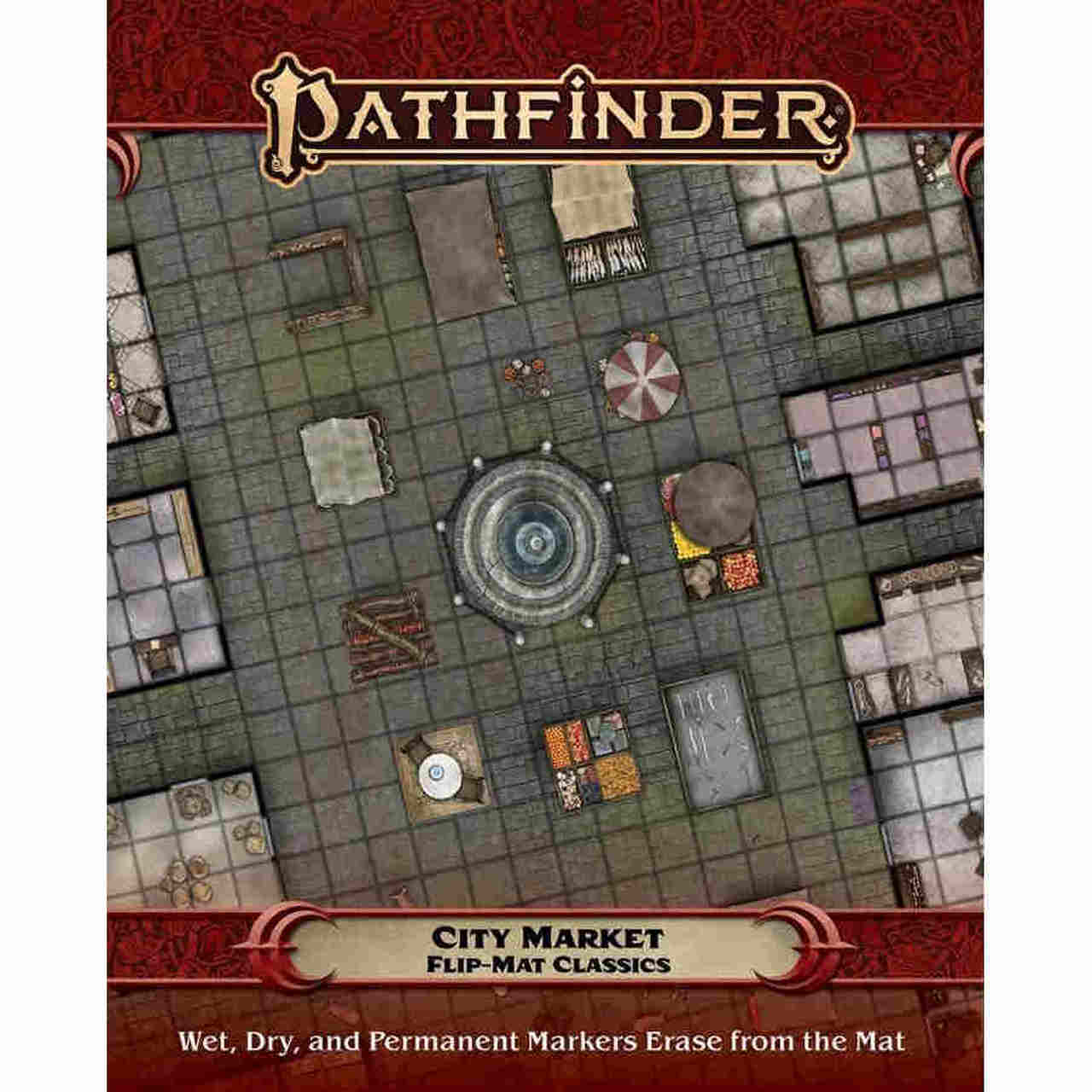 Pathfinder RPG: Flip-Mat Classics - City Market | All About Games