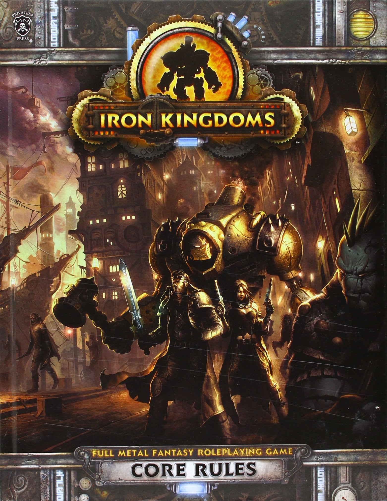 Iron Kingdoms: Core Rules | All About Games