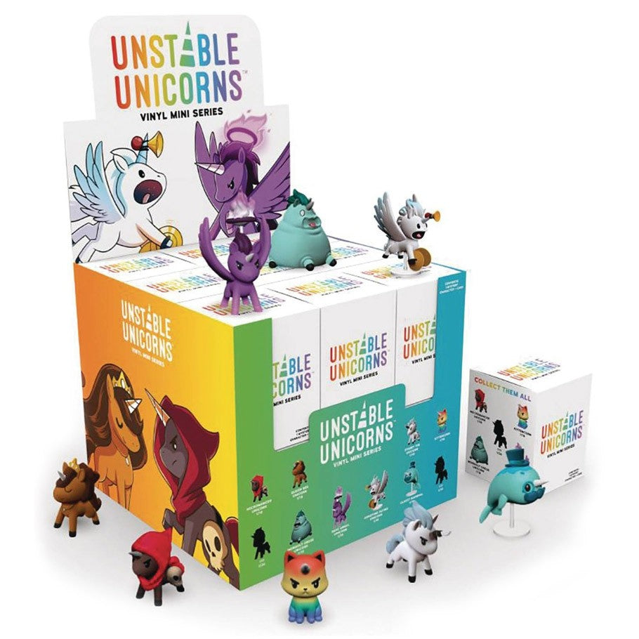 Unstable Unicorns Vinyl Mini Series | All About Games