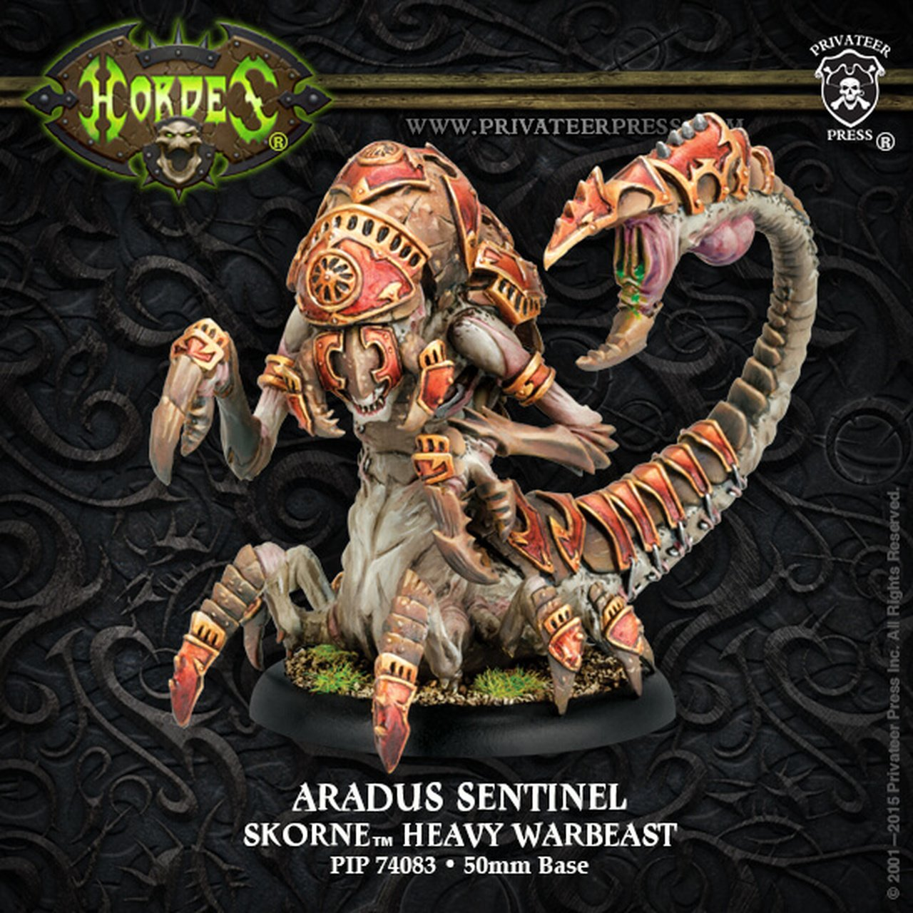 Skorne - Aradus Sentinel/Soldier Heavy Warbeast | All About Games
