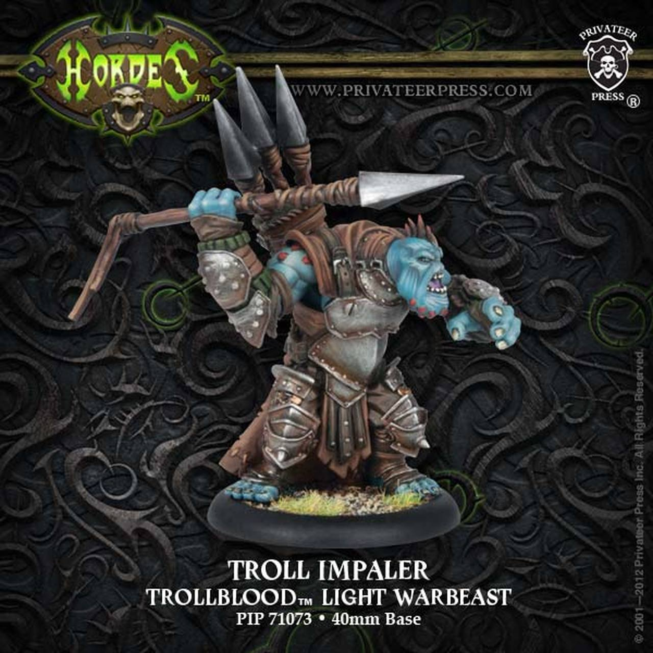 Trollblood - Troll Impaler, Light Warbeast | All About Games
