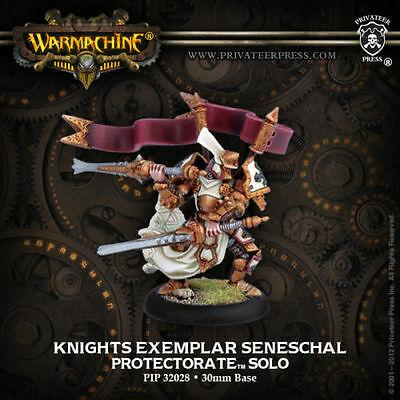 Protectorate of Menoth - Knights Exemplar Seneschal Solo | All About Games