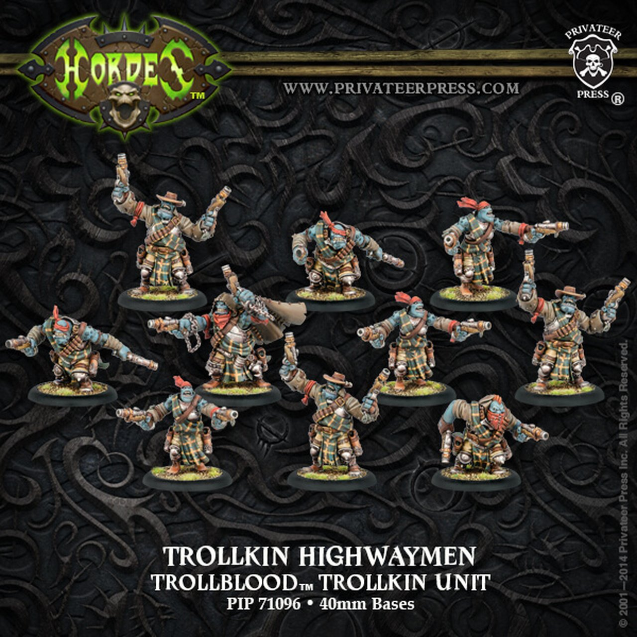 Trollblood - Trollkin Highwaymen Unit | All About Games