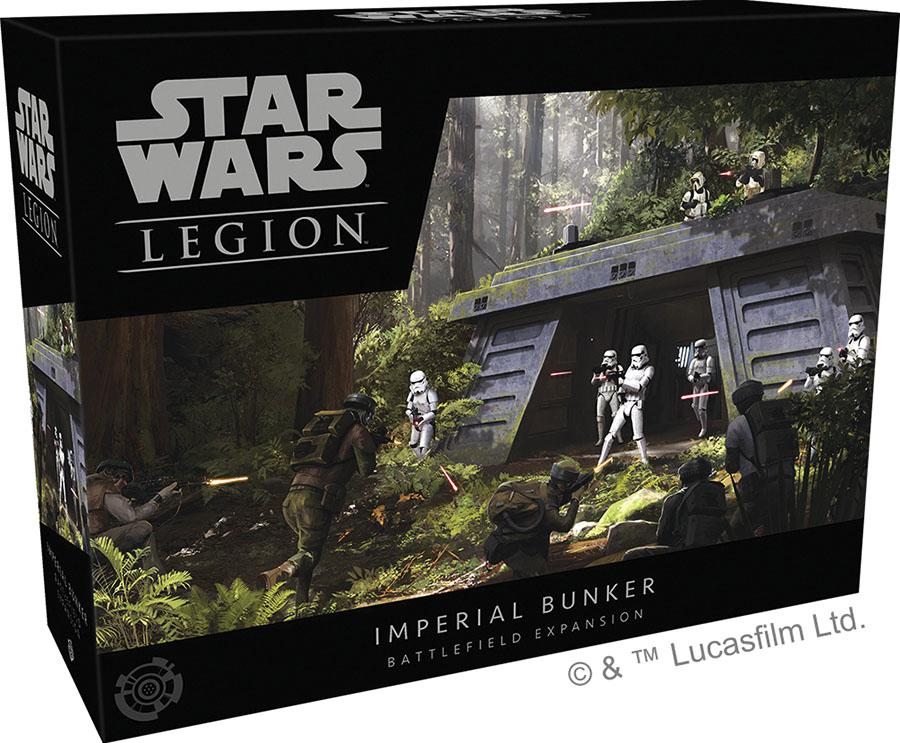 Star Wars: Legion - Imperial Bunker Battlefield Expansion | All About Games