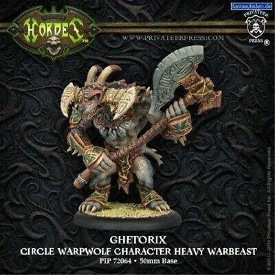 Circel Orboros - Ghetorix Warpwold Character Heavy Warbeast (Upgrade Kit) | All About Games