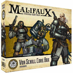Malifaux: Outcasts Von Schill Core Box | All About Games