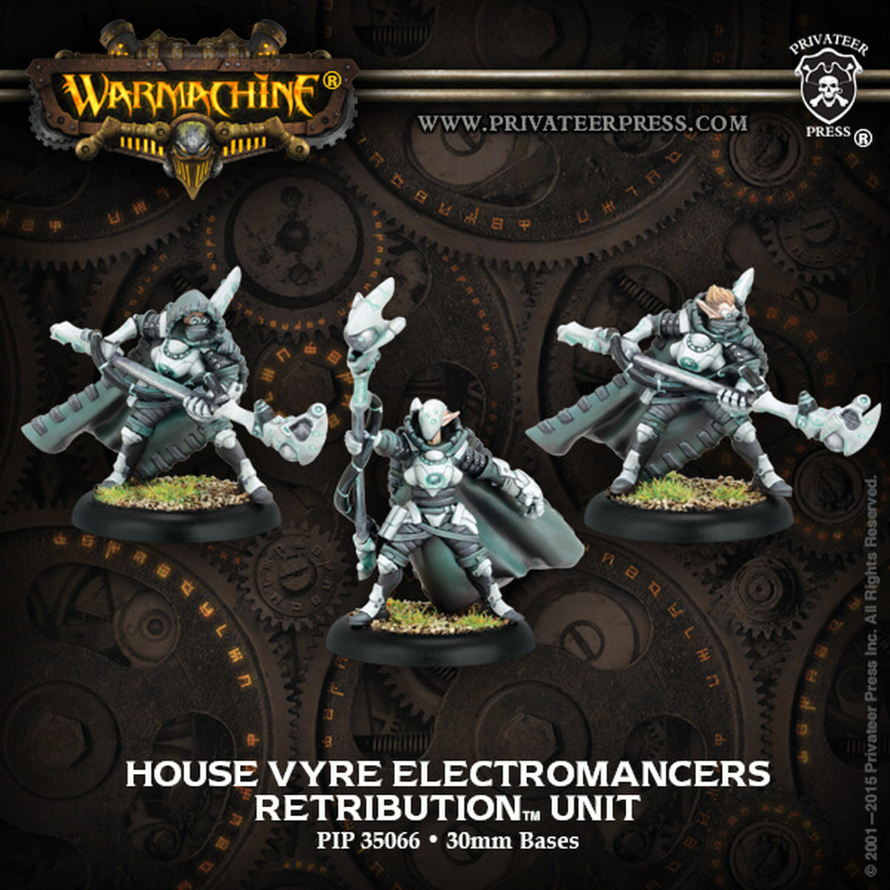 Retribution of Scyrah - House Vyre Electromancer Unit (3) | All About Games