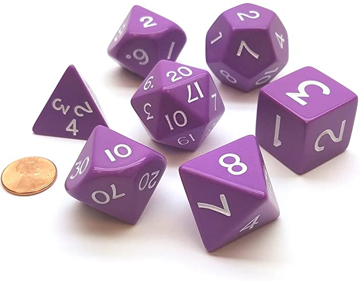 Jumbo Purple Dice | All About Games