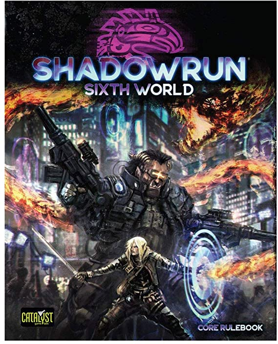 Shadowrun 6th Edition | All About Games
