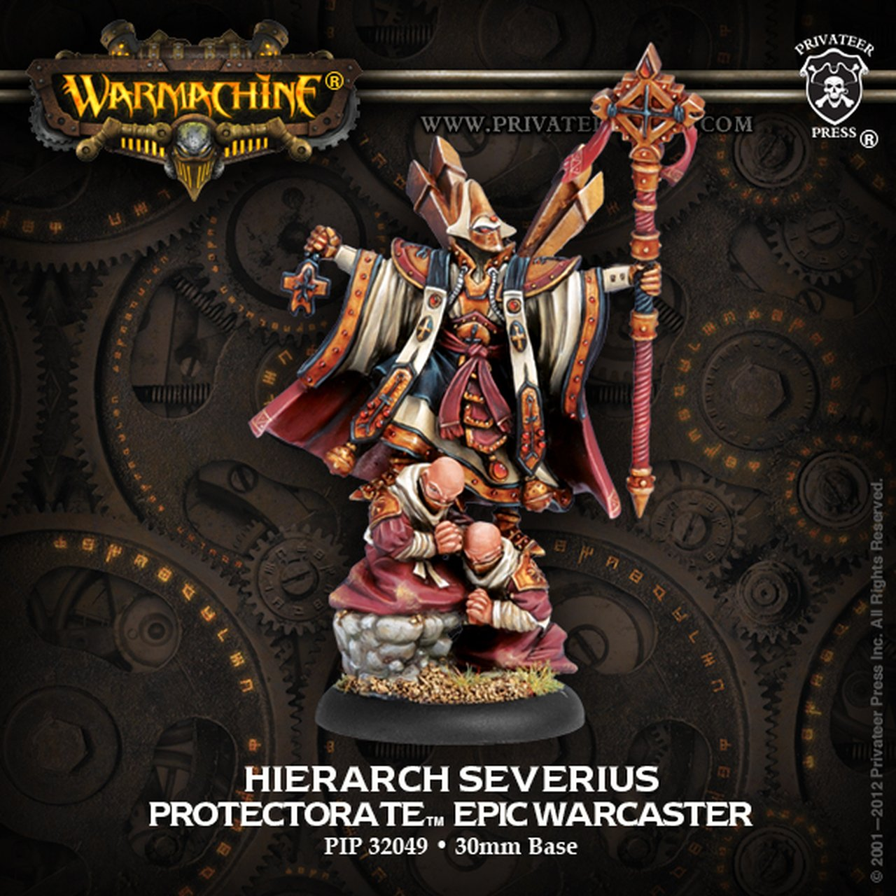 Protectorate of Menoth - Hierarch Severius Epic Warcaster | All About Games