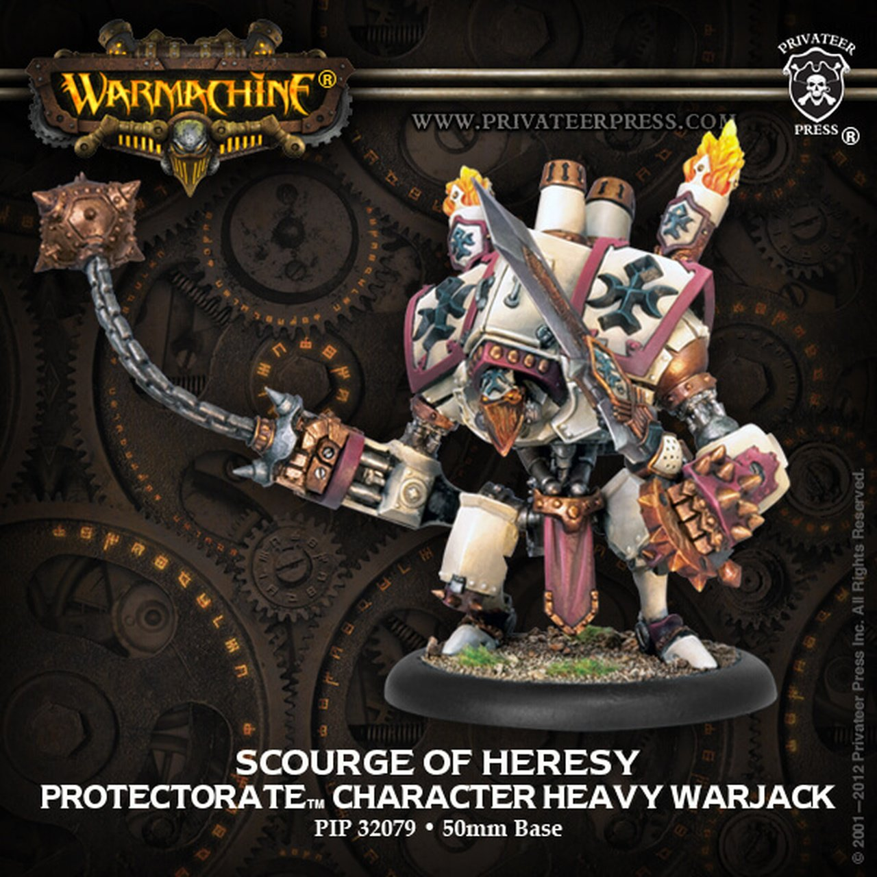 Protectorate of Menoth - Scourage of Heresy Character Heavy Warjack (Upgrade Kit) | All About Games
