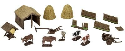 Object: 4D Medieval Farmer HD Minis | All About Games