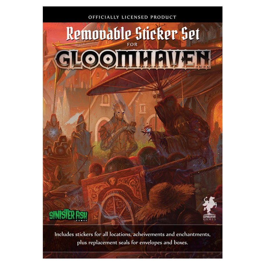 Gloomhaven: Removable Sticker | All About Games