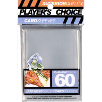 Player's Choice Small Sleeves Clear 60-Count | All About Games