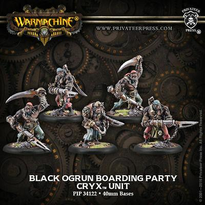 Cryx - Black Ogrun Boarding Party Unit | All About Games